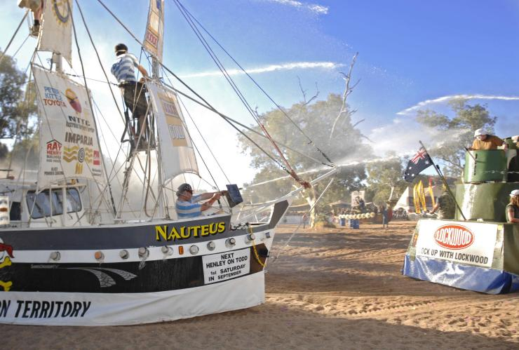 Henley-on-Todd Regatta, Alice Springs, Northern Territory © Henley on Todd Inc