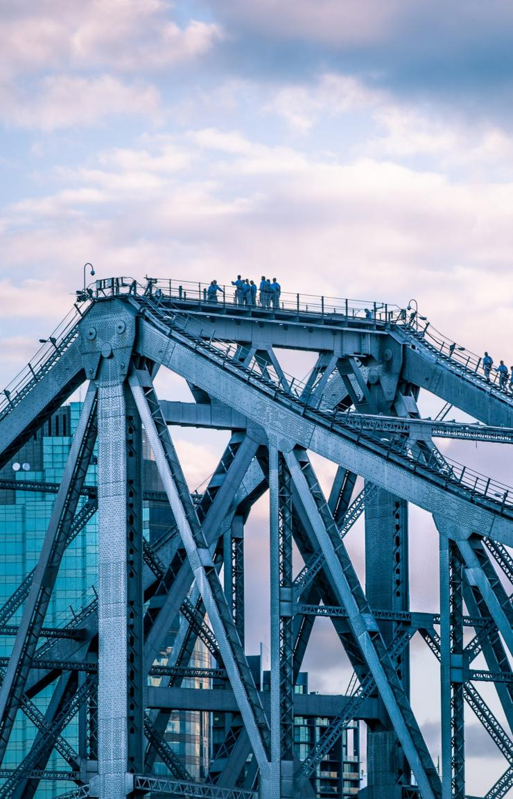 Kletterabenteuer an der Story Bridge, Brisbane, Queensland © Story Bridge Adventure Climb