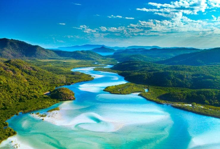 Hill Inlet, Whitehaven Islands, Queensland © Clemens Sehi