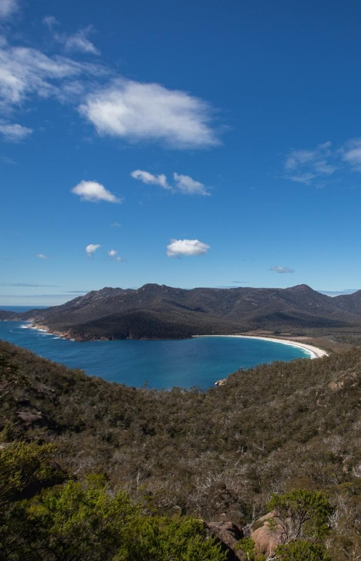 Wineglass Bay, Freycinet National Park, Tasmanien, Australien © uberding