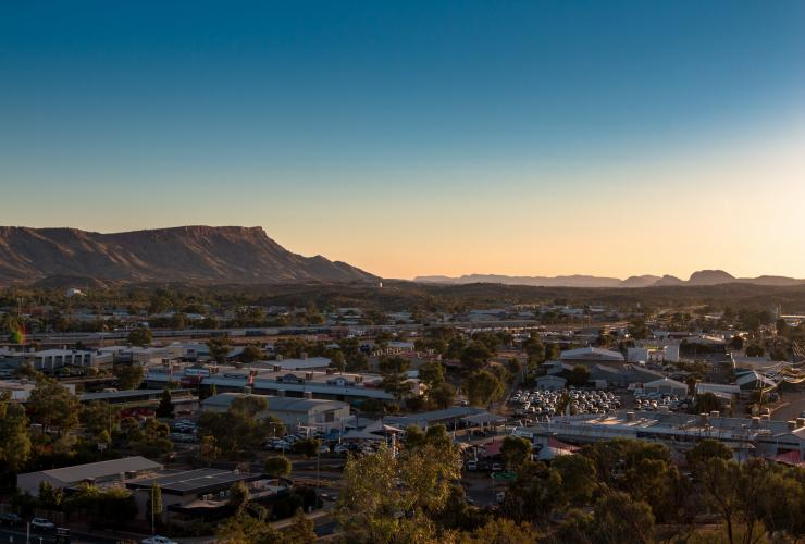 ANZA Hill, Alice Springs, Northern Territory, Australien © Katrin Lehr / Viel unterwegs