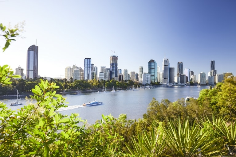 Kangaroo Point, Brisbane, Queensland © JSP