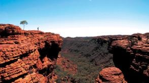 Kings Canyon, Watarrka National Park, Northern Territory © Tourism NT
