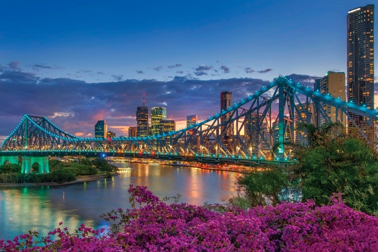 Brisbane, Queensland © Tourism and Events Queensland