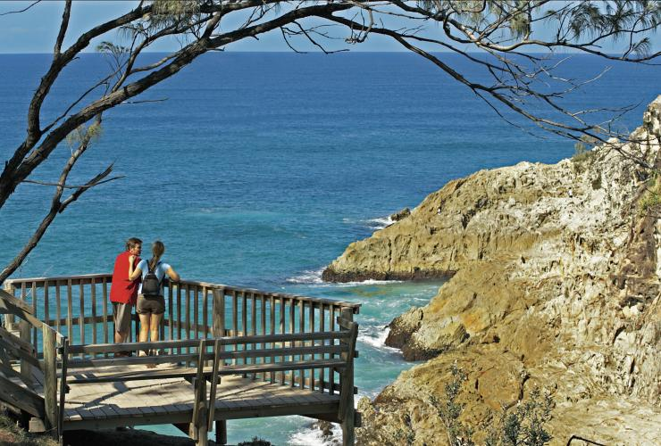 North Gorge Point Lookout, North Stradbroke Island, Queensland © Tourism and Events Queensland