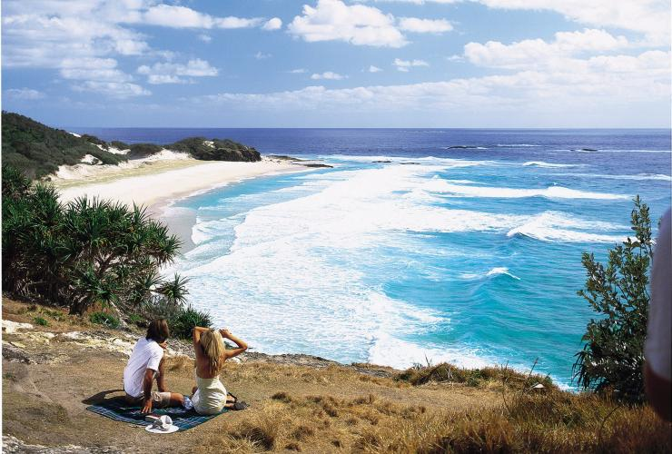 Frenchmans Beach, Point Lookout, North Stradbroke Island, Queensland © Tourism and Events Queensland