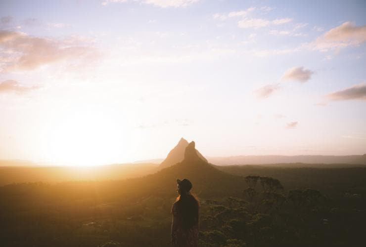 Glass House Mountains, Sunshine Coast, Queensland © Tourism & Events Queensland