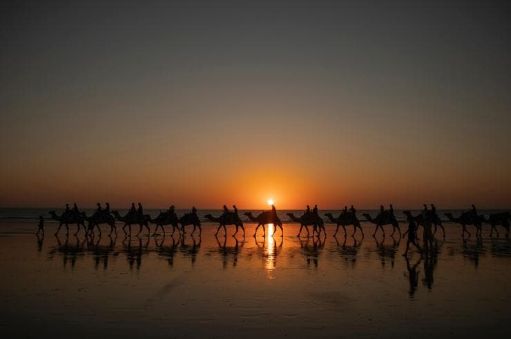 Cable Beach, Broome, Westaustralien © Tourism Western Australia