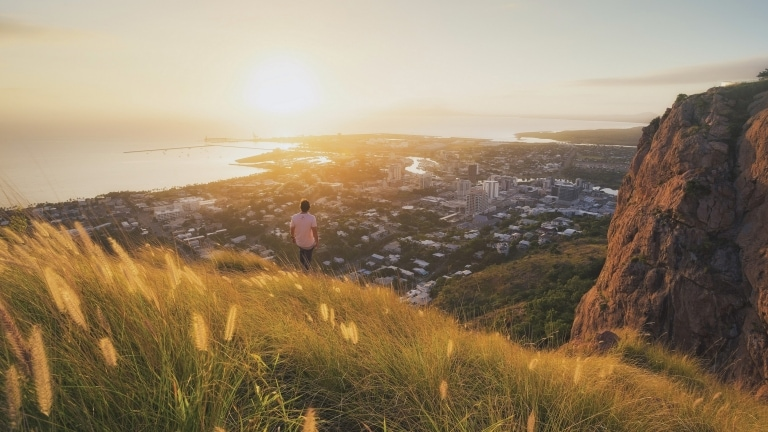 Castle Hill, Townsville, Queensland © Tourism and Events Queensland