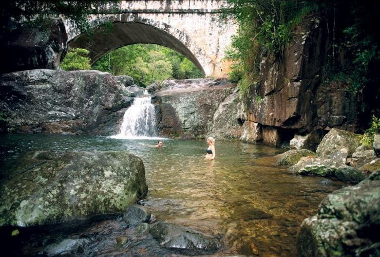 Little Crystal Creek, Paluma Range National Park, Queensland © Tourism and Events Queensland