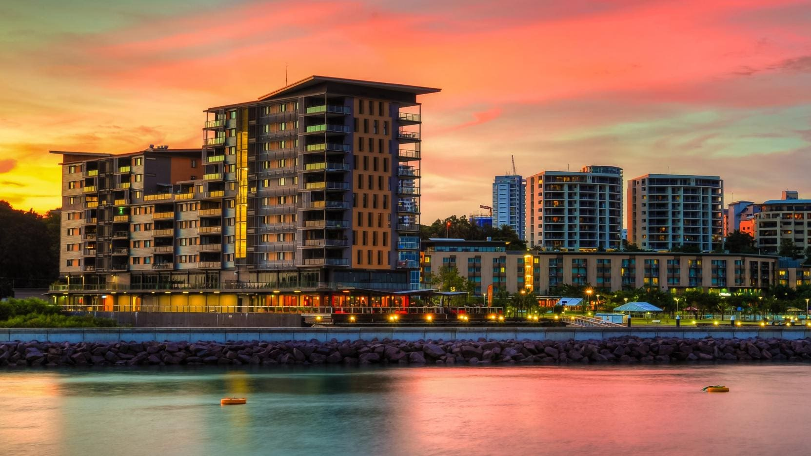 Darwin Waterfront Luxury Suites, Darwin, Northern Territory © William Cowan