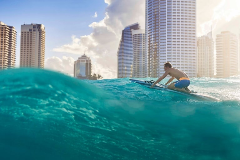Surfers Paradise, Gold Coast, Queensland © Tourism Australia