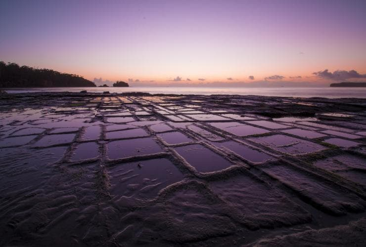 Tessellated Pavement, Tessellated Pavement State Reserve, Eaglehawk Neck, Tasmanien © Kathryn Leahy
