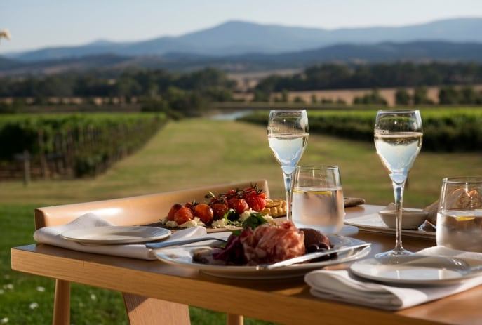 Domaine Chandon Winery, Yarra Valley, Victoria © Adrian Brown, Tourism Australia