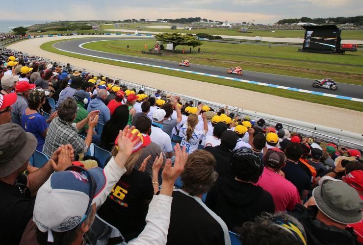 Australian Motorcycle Grand Prix, Phillip Island, Victoria © Australian Grand Prix Corporation