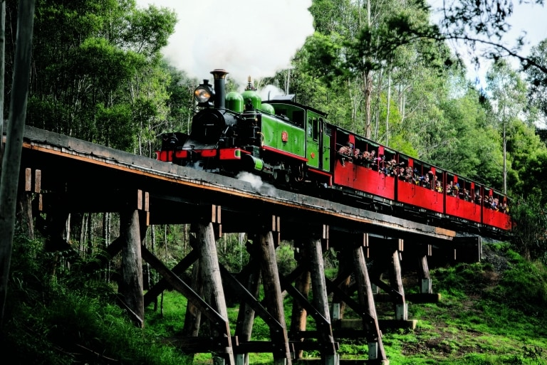 Puffing Billy Railway, Dandenong Ranges, Victoria © Puffing Billy, Dandenong Ranges