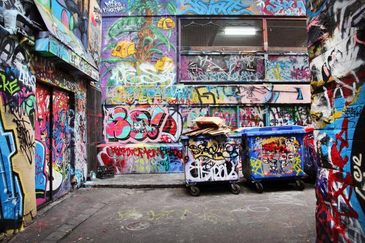 Rutledge Lane, Melbourne, Victoria © Ashlea Wheeler