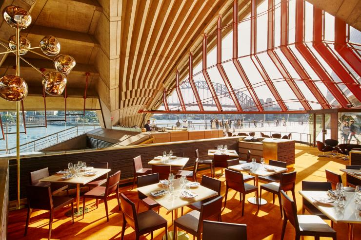 Bennelong Restaurant and Bar, Sydney, New South Wales © Brett Stevens/Bennelong