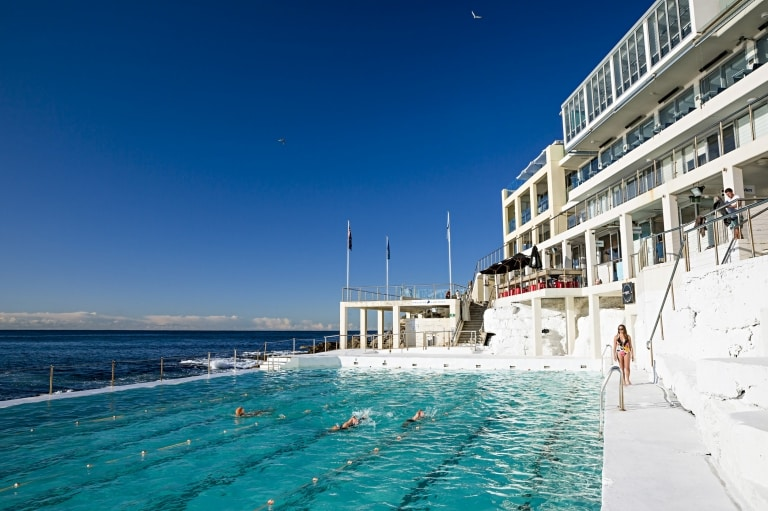 Bondi Icebergs, Bondi Beach, New South Wales. © Daniel Boud, Destination New South Wales
