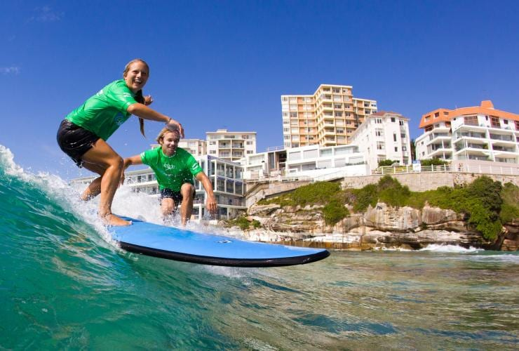 Let's Go Surfing, Bondi, New South Wales © Let's Go Surfing
