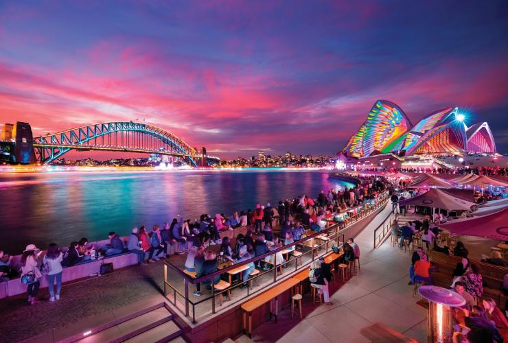 Vivid Sydney, Sydney, New South Wales © Destination NSW