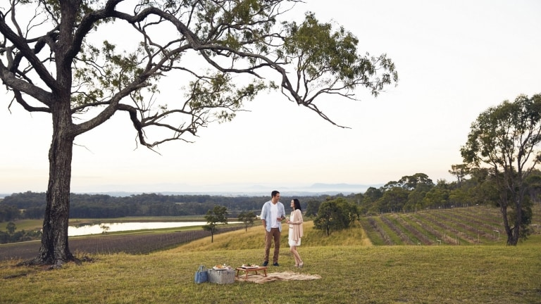 Audrey Wilkinson Vineyard, Hunter Valley, New South Wales © Tourism Australia