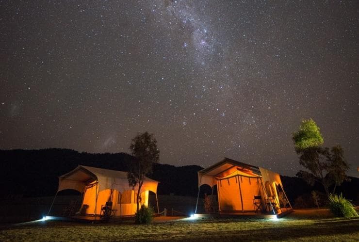 Spicers Canopy Eco Lodge, Maryvale, Scenic Rim, Queensland © Ben Messina, Spicers Retreats