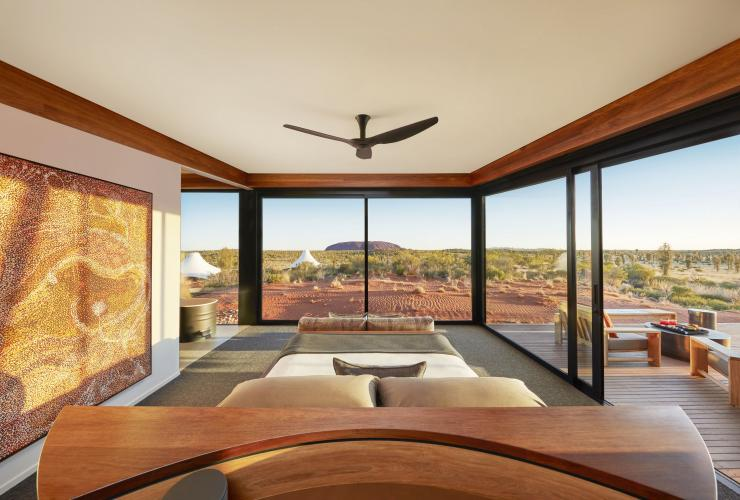 Longitude 131, Uluru-Kata Tjuta National Park, Northern Territory © Luxury Lodges of Australia
