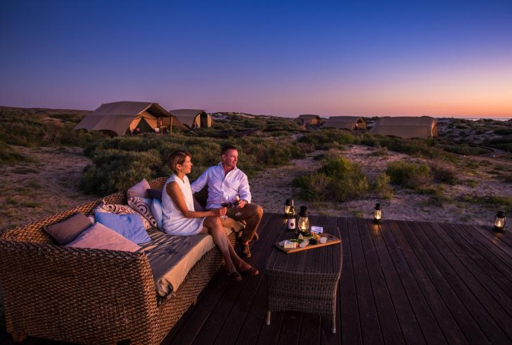 Sal Salis Wilderness Camp, Cape Range National Park, Ningaloo Reef, Westaustralien © Luxury Lodges of Australia