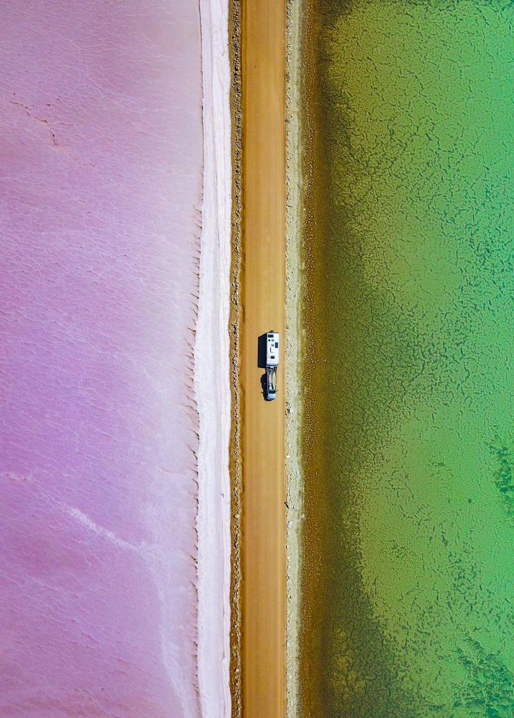 Lake MacDonnell, Eyre Peninsula, Südaustralien © The Blonde Nomads – Tracy und Rob Morris