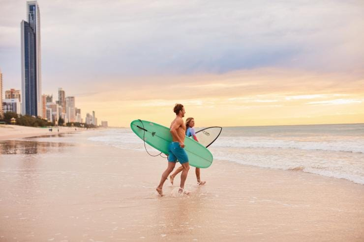 Surfers Paradise, Gold Coast, Queensland © Tourism and Events Queensland