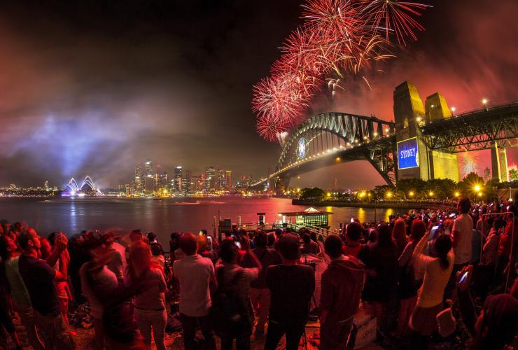 Silvester, Sydney, New South Wales © Hamilton Lund, Destination NSW