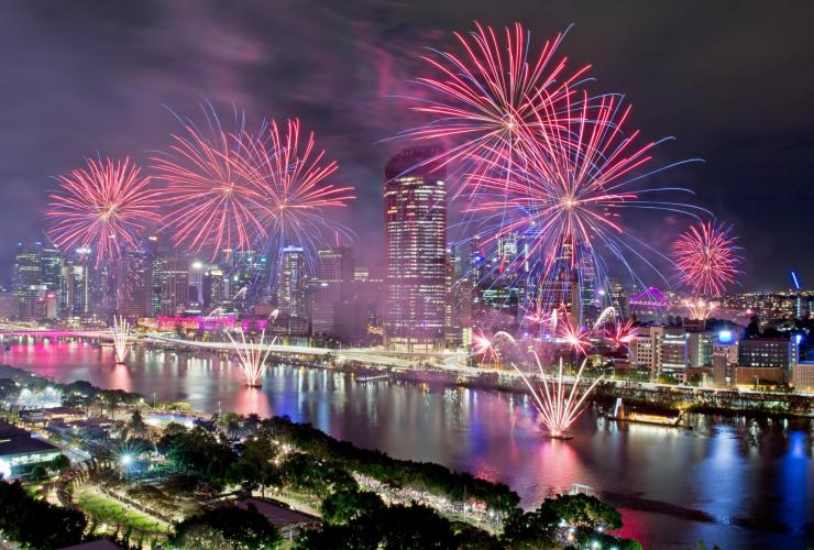 Riverfire, Brisbane Festival, Brisbane, Queensland © Atmosphere Photography