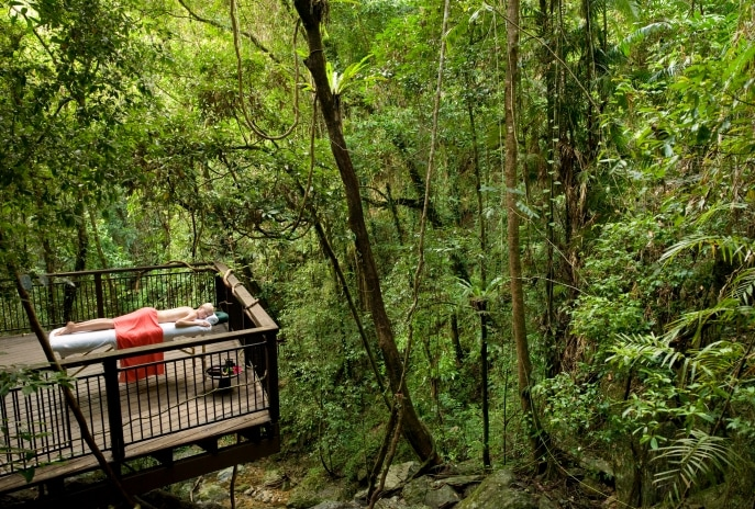 Daintree Eco Lodge and Spa, Daintree, Queensland © Tourism Australia