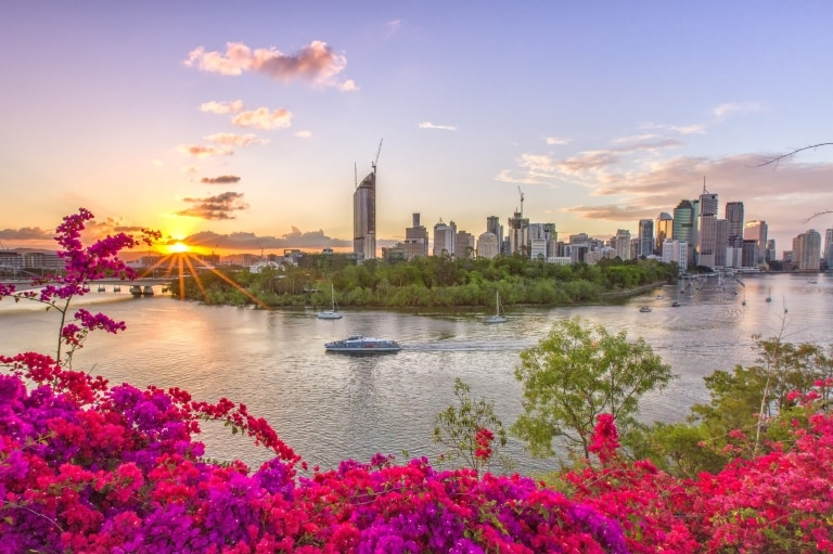 Brisbane City, Queensland © Tourism and Events Queensland