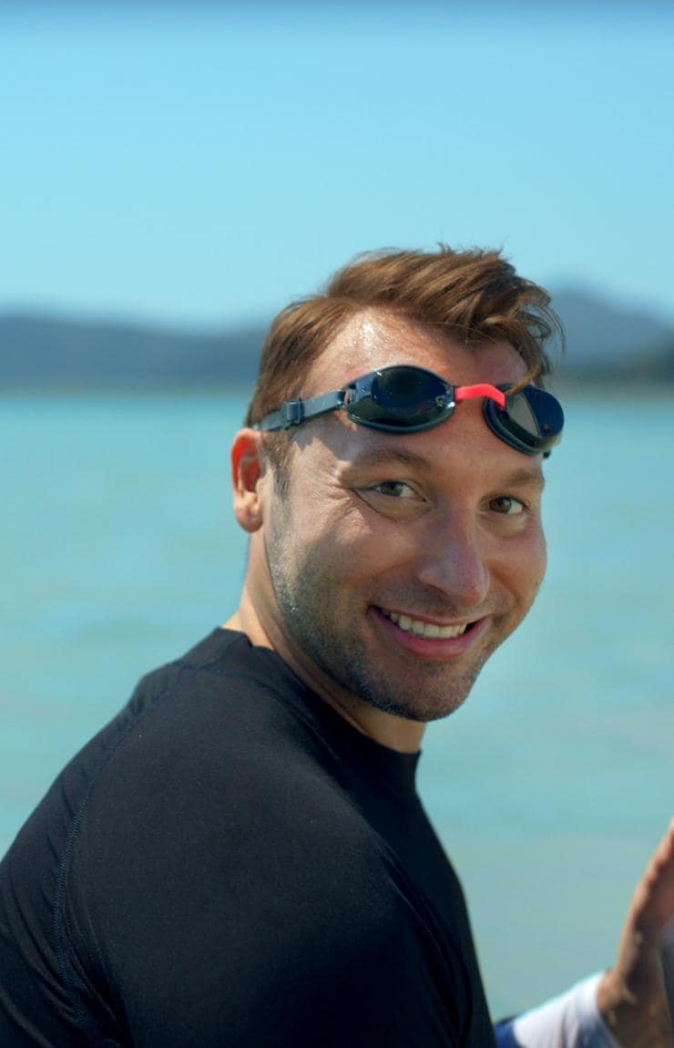 Ian Thorpe, Whitsundays, Queensland © Tourism Australia