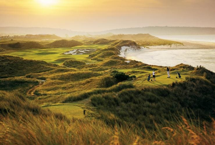 Barnbougle Dunes Golf Links, Bridport, Tasmanien © Tourism Tasmania