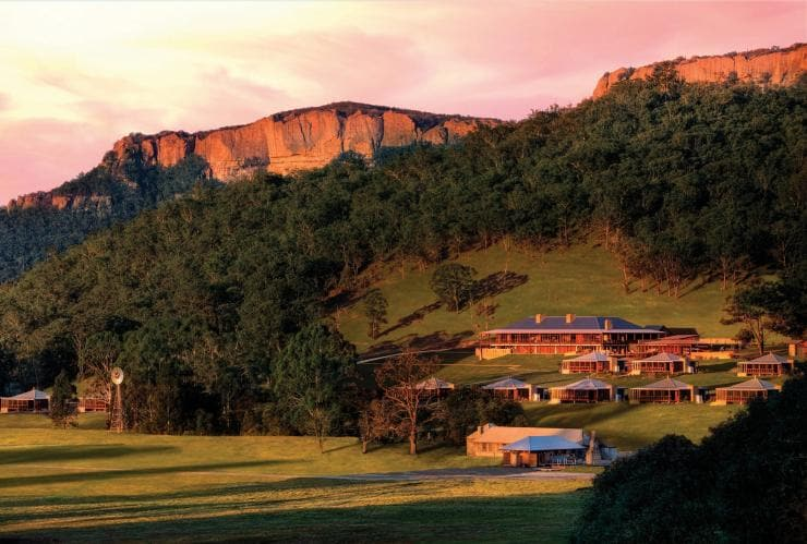 Emirates One&Only Wolgan Valley, Wolgan Valley, New South Wales © Luxury Lodges of Australia