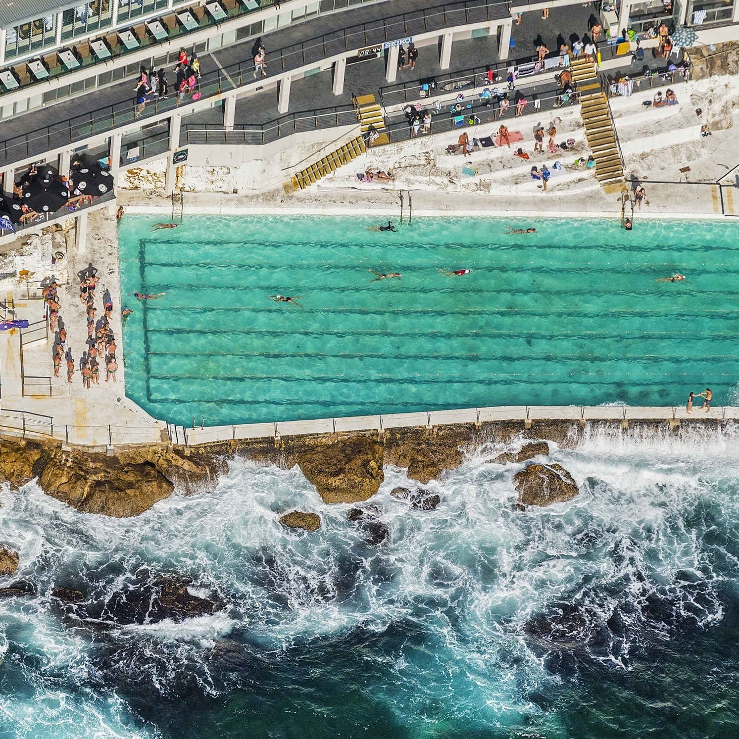 Bondi Icebergs, Sydney, New South Wales © DNSW