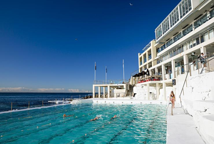Bondi Icebergs, Bondi Beach, Sydney, New South Wales © Daniel Boud