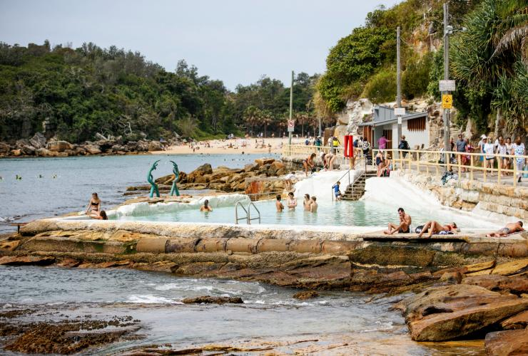 Fairy Bower Ocean Pool, Manly, Sydney, New South Wales © Destination NSW