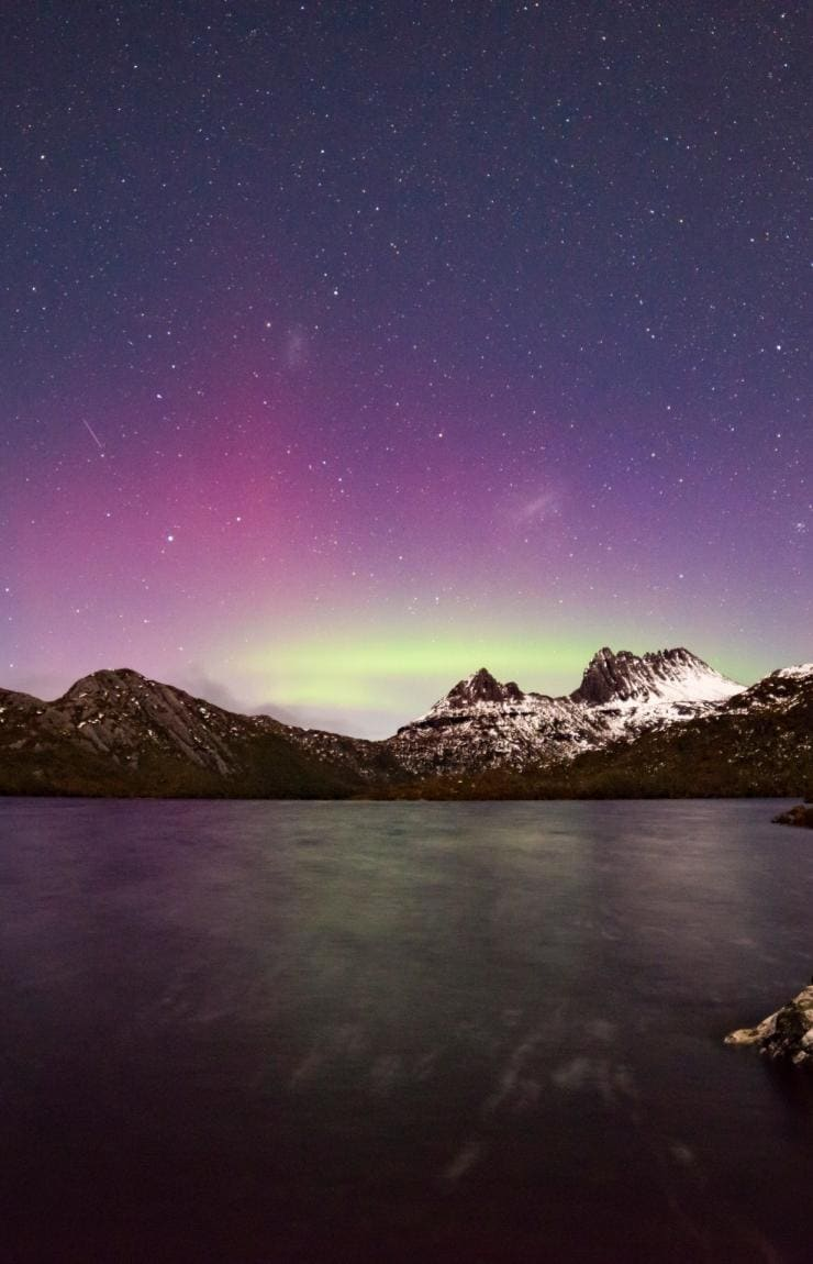 Aurora Australis, Cradle Mountain-Lake St Clair National Park, Tasmanien © Pierre Destribats