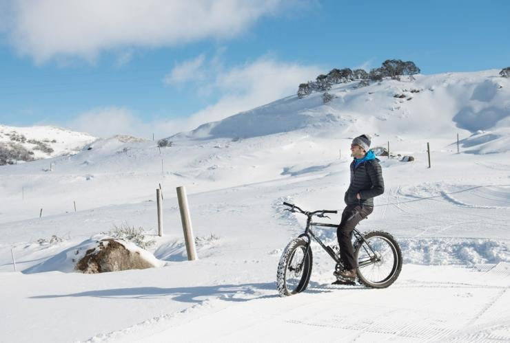 Radtouren mit Fatbikes in Falls Creek, Victoria © JIRI, Falls Creek Alpine Resort