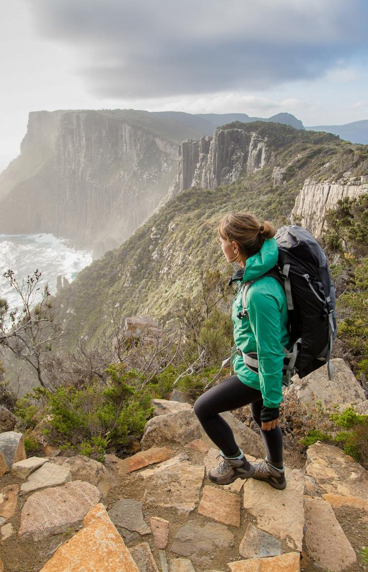 Three Capes Track, Tasman National Park, Tasmanien © Tasmania Parks and Wildlife Service