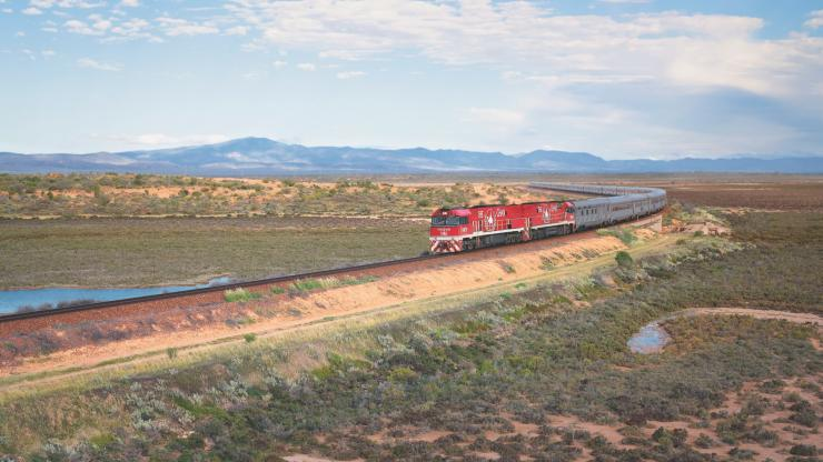 The Ghan, Port Augusta, Südaustralien © Journey Beyond