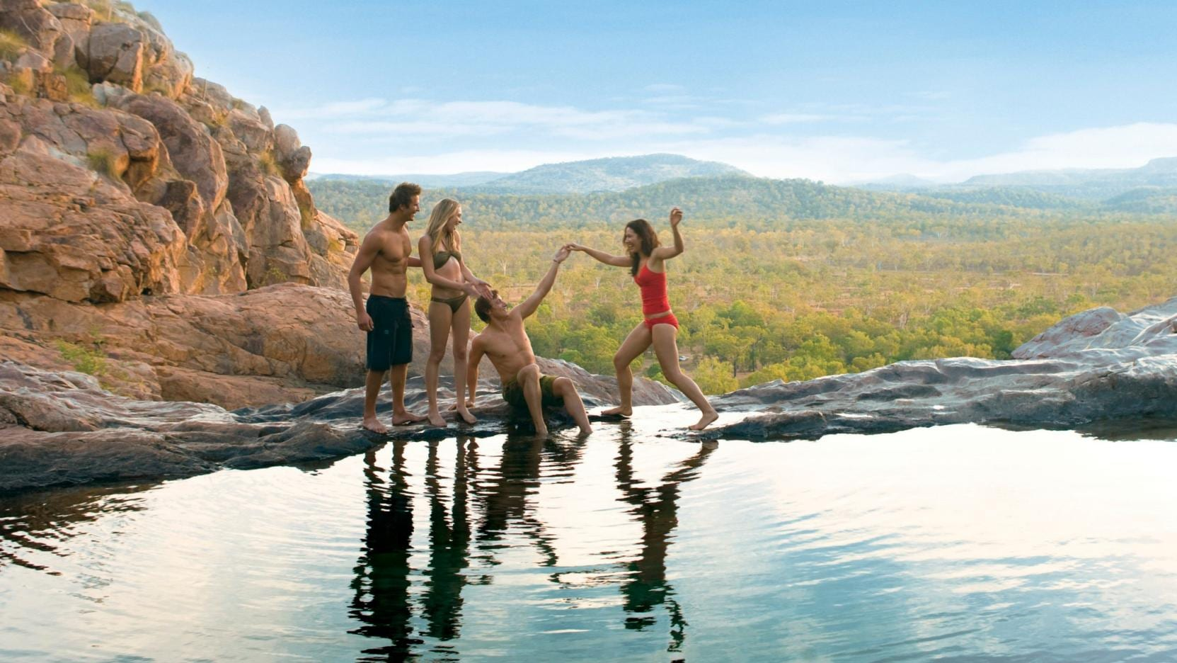 Gunlom Falls, Kakadu National Park, NT © Tourism Northern Territory