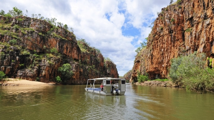 Katherine Gorge, Nitmiluk National Park, Region Katherine, Top End, Northern Territory © Tourism NT