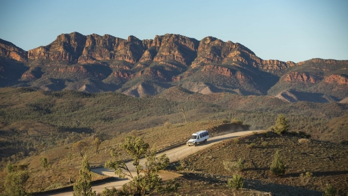 Wilpena Pound Resort, Flinders Ranges National Park, Südaustralien © Tourism Australia