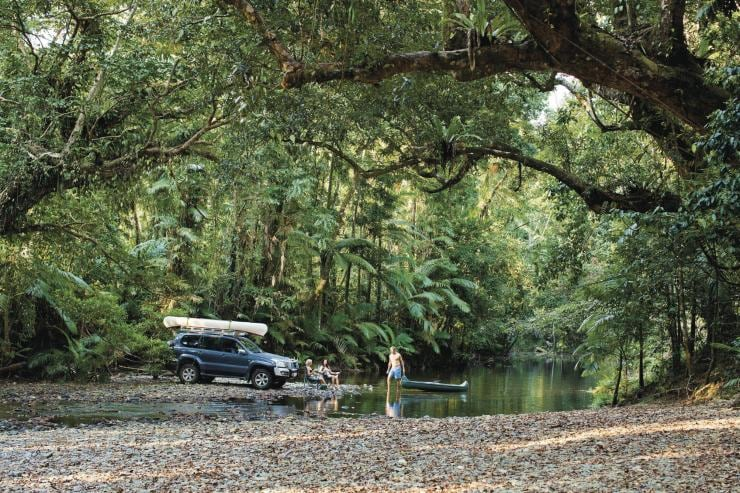 Coopers Creek, Daintree Rainforest, Queensland © Tourism Australia
