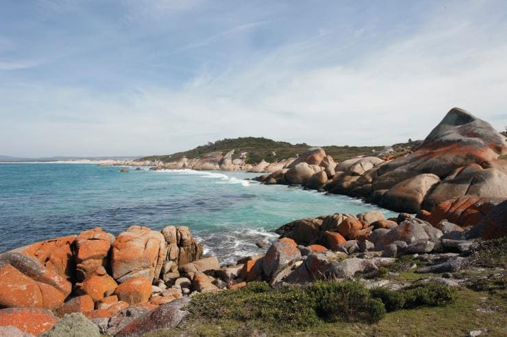 Binalong Bay, Bay of Fires Conservation Area, Tasmanien © Tourism Australia